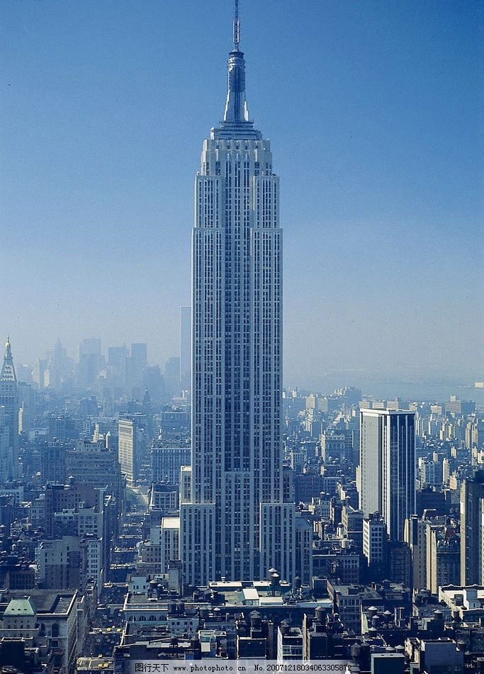 美国纽约帝国大厦 世界风景美国纽约帝国大厦 国外旅游 世界风景篇