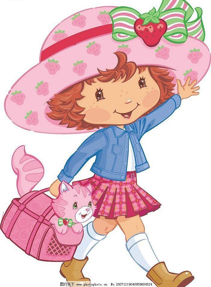 童年的小孩 卡通 可爱