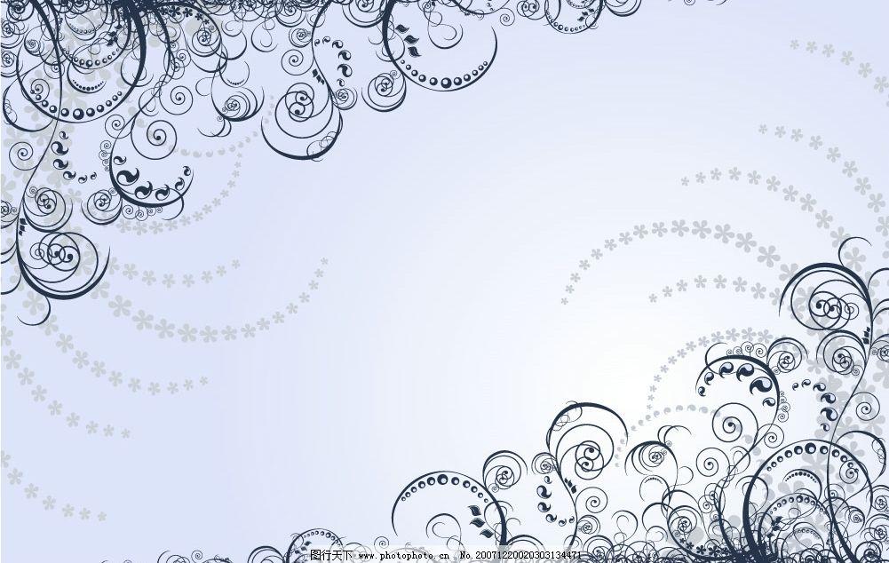 矢量花纹 花纹 底色 底纹边框 花纹花边 矢量图库   eps