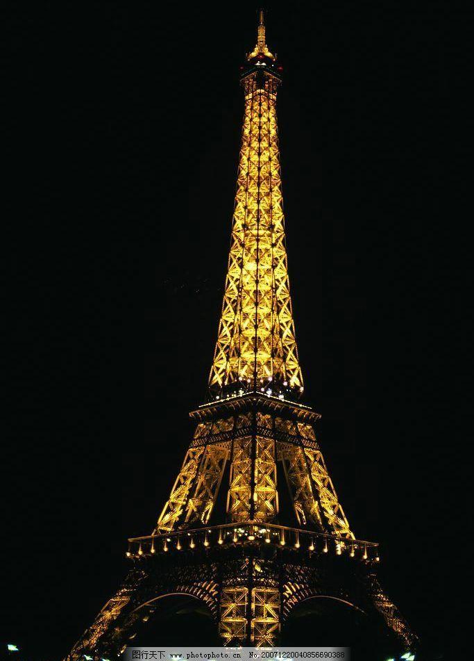 铁塔 背景 风景 夜景 其他