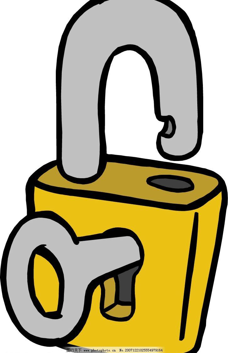 钥匙,锁,保险箱 钥匙锁保险箱 矢量图库