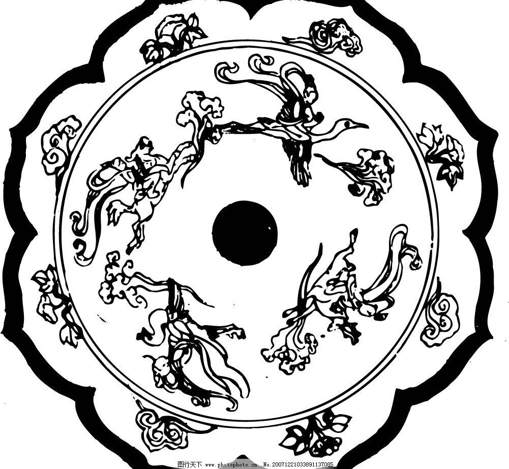 古代矢量图案 其他矢量 矢量素材 矢量古代图案 矢量图库   ai