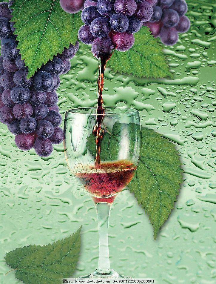 葡萄酒 葡萄酒杯 广告设计 设计图库   psd