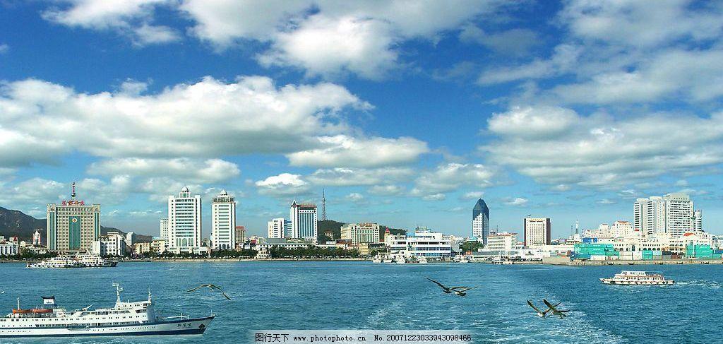 威海全景图 威海 人居城市 旅游摄影 国内旅游 摄影图库 72 jpg