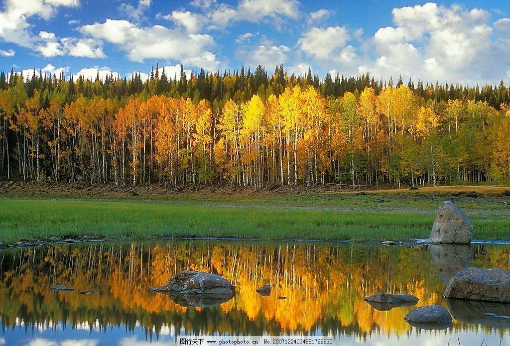 河边景色 风景 自然景观 自然风景 风景图 摄影图库 72 jpg