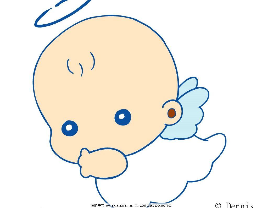 矢量婴儿 矢量人物 儿童幼儿 矢量图库   eps