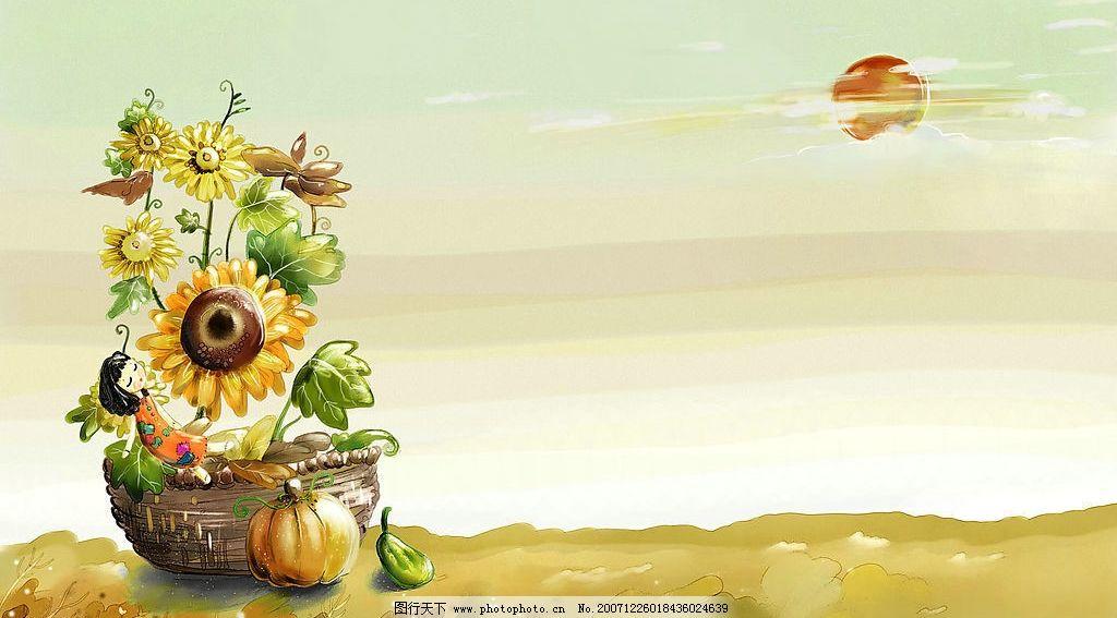 唯美风景4 唯美 动漫动画 风景漫画 唯美手绘 设计图库 300 jpg