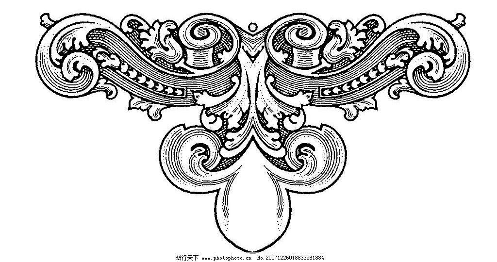 欧式花边花纹设计纹身手稿第4页