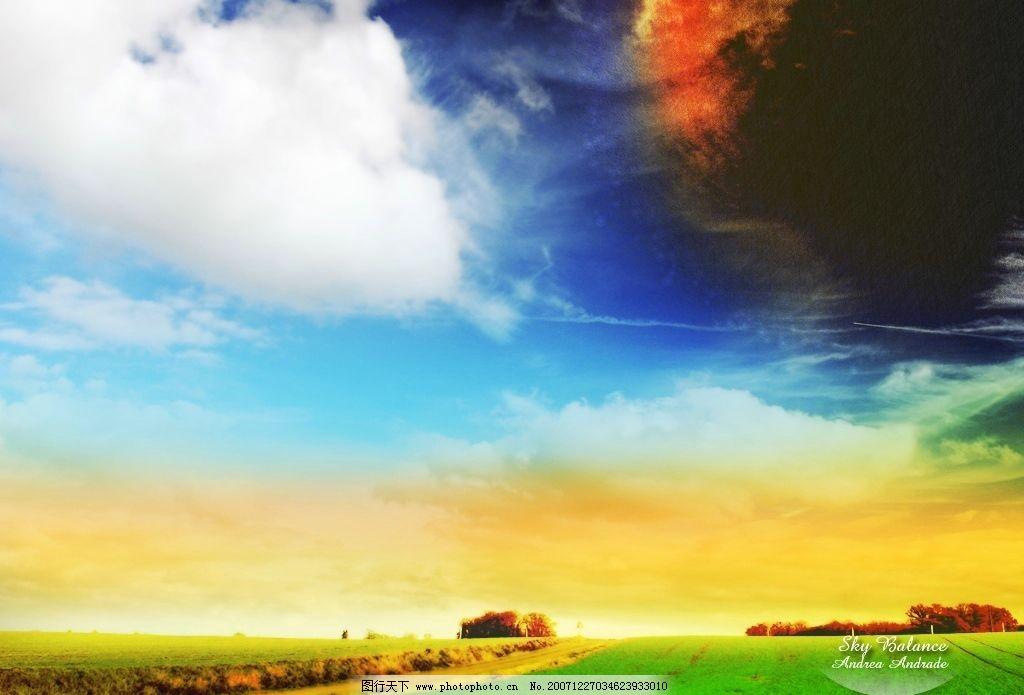 ps梦幻风景壁纸01 ps梦幻风景壁纸 自然景观 风景名胜 摄影图库 72