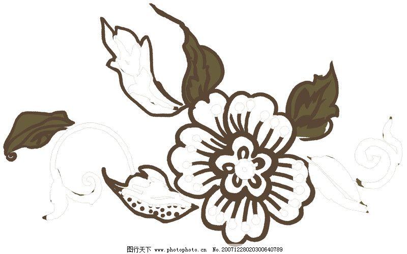 彩绘花纹0337