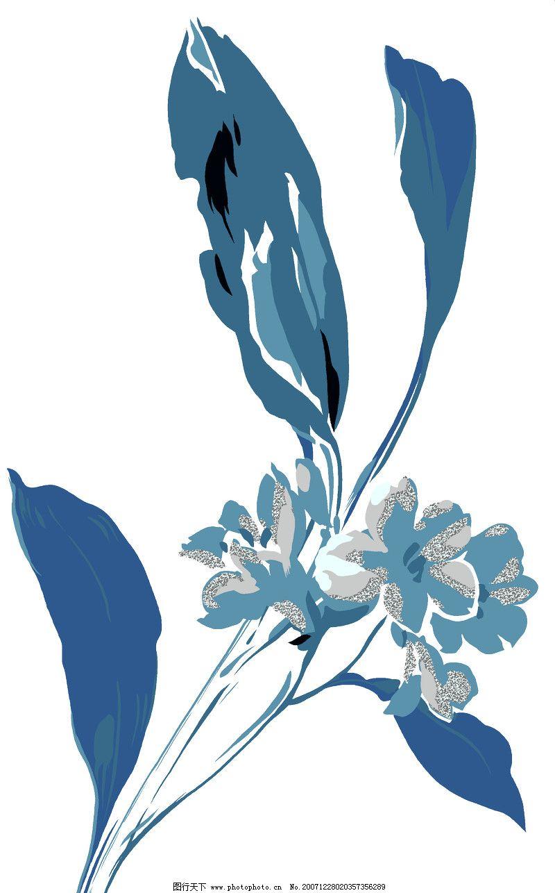 彩绘花纹0087