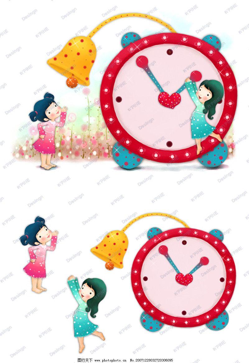 可爱小仙子0117 彩绘人物情景模板篇
