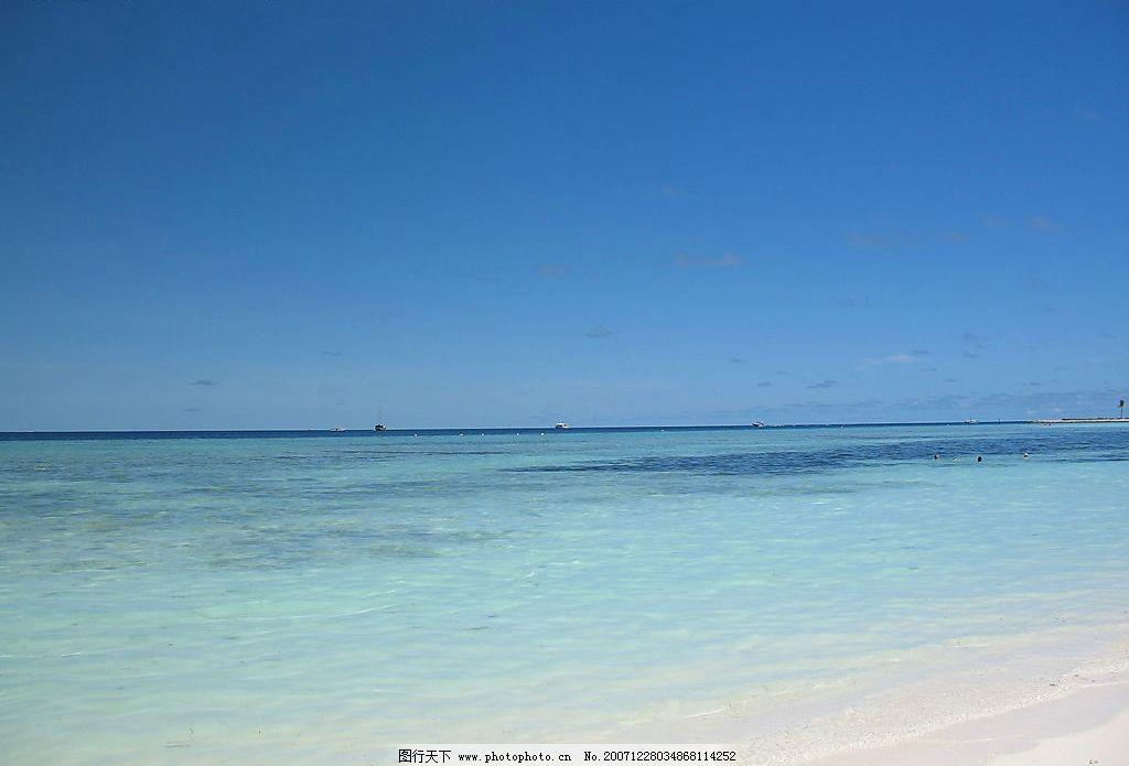 马尔代夫海滩图片