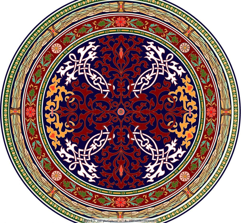 国外古典花纹 维多利亚风格精致装饰花纹图案 其他矢量 矢量素材 矢量