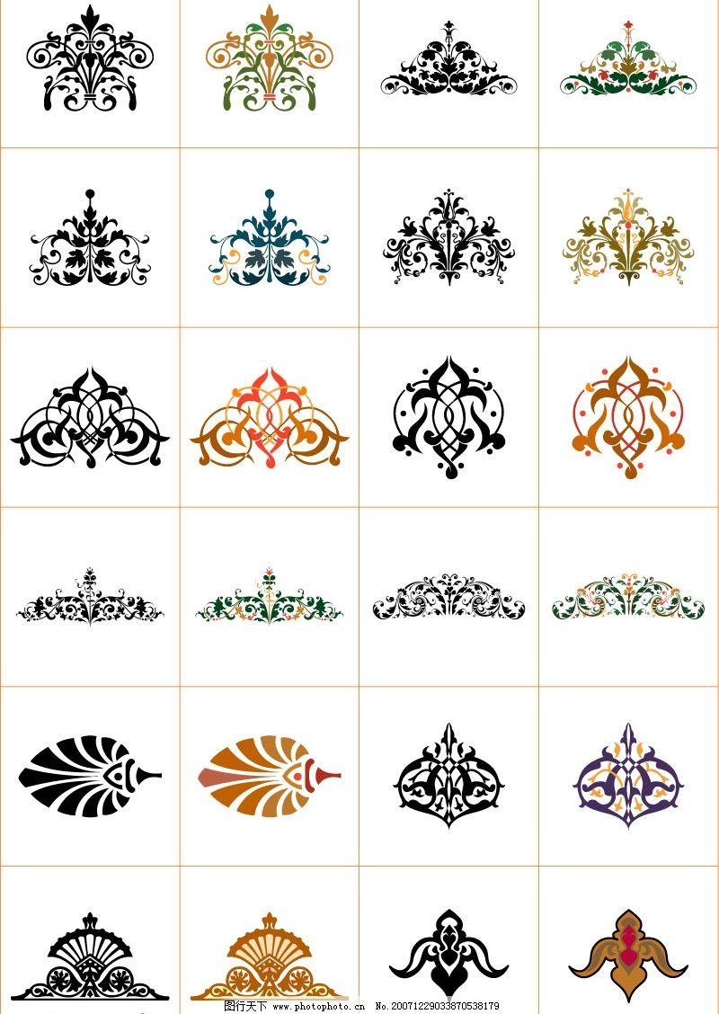中国古典花纹7 底纹 其他矢量 矢量素材 矢量图库