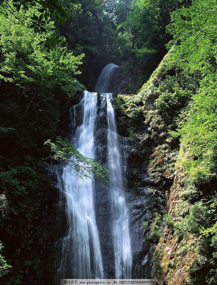 高山流水 自然景观 山水风景 摄影图库 350 jpg