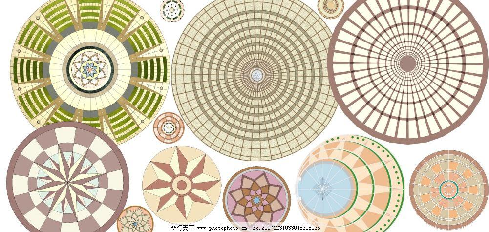 设计图库 样机素材 logo样机  地面拼花 建筑 规划 总平面 后期 ps
